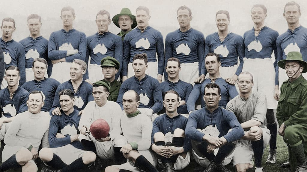 October, 1916, London: Why soldiers played Australian footy in a time of crisis