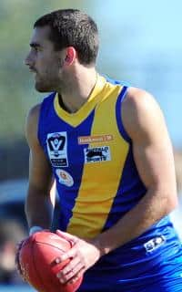 Adam Marcon in action for Williamstown