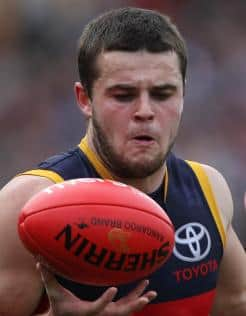 Brad Crouch has starred for Adelaide reserves against Sturt