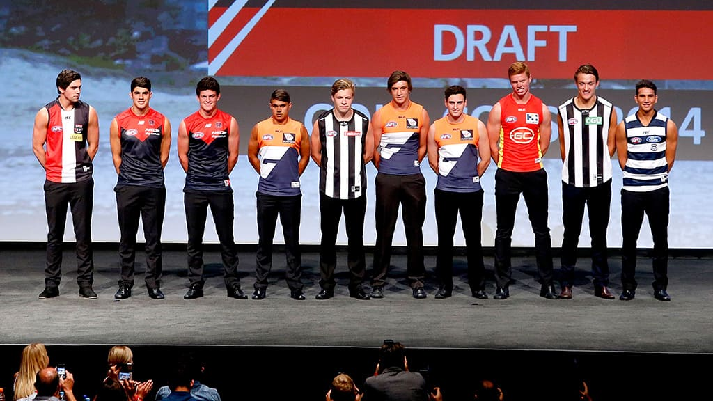 Best to worst: We grade your club's 2014 draft and trade