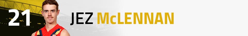 21 Jez McLennan