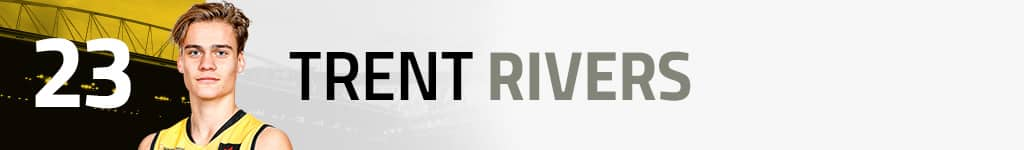 23. Trent Rivers new banner