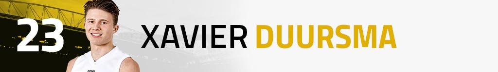 23 Xavier Duursma
