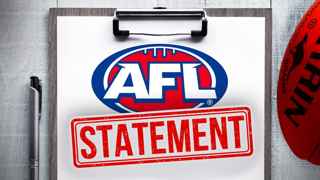 AFL releases a statement on fan behaviour - AFL,Tag-AFL HQ