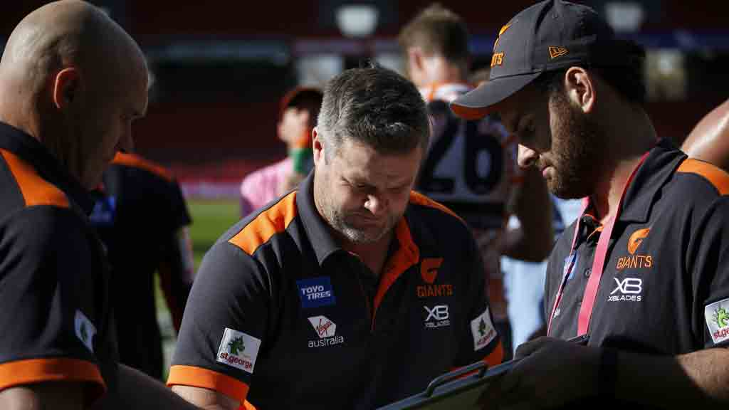 Giants promote NEAFL boss as part of coaching reshuffle