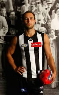 AFL 2011 Media - Collingwood Player Portraits