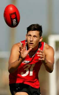 Sam Weideman in Florida on the NAB AFL Academy camp. Picture: Lachlan Cunningham