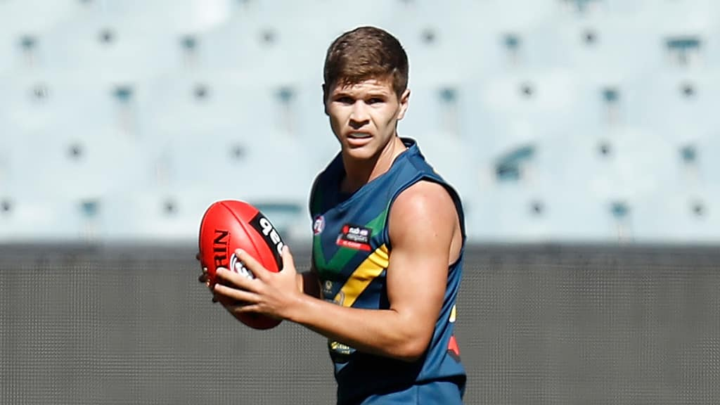 Midfielder Connor Budarick 'ticks all the boxes', according to Gold Coast Academy manager Jason Torney - AFL,AFL Academy