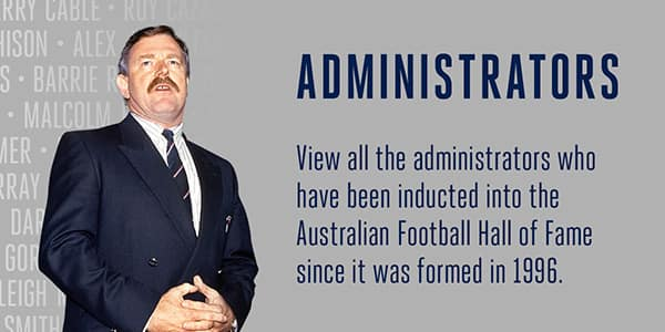 AFL Hall of Fame Administrators
