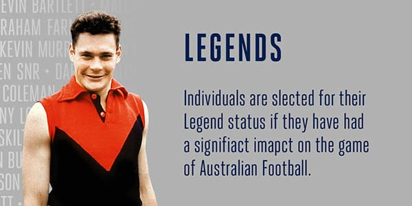 AFL Hall of Fame Legends