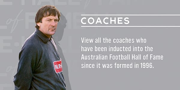 AFL Hall of Fame Coaches