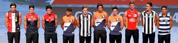 The Stars Of Show At 2014 NAB AFL Draft