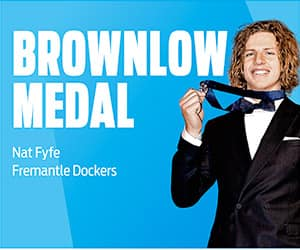 2015 Brownlow Medallist Nat Fyfe