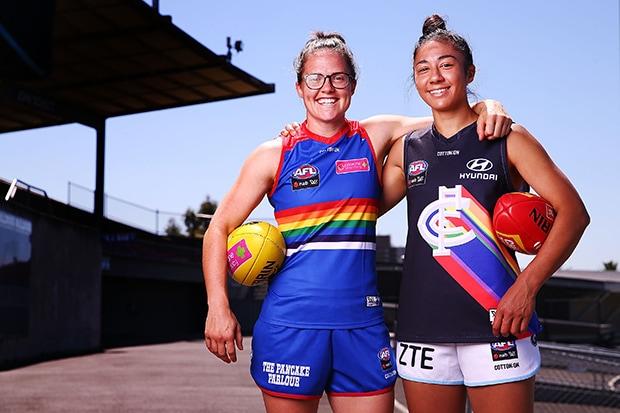 AFL 2018 Media - AFLW Pride Game Media Opportunity