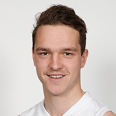 Headshot of 2019 AFL Draft Prospect Riley Baldi