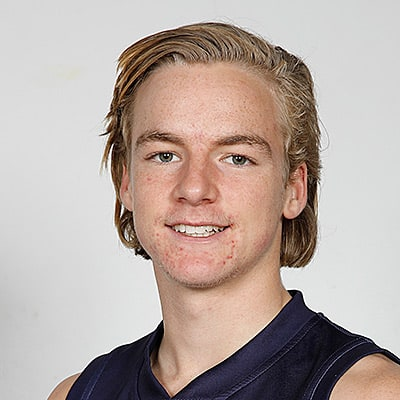 Headshot of 2019 AFL Draft Prospect Miles Bergman