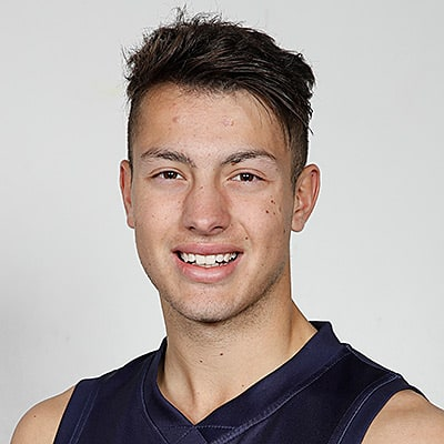 Headshot of 2019 AFL Draft Prospect Darcy Cassar