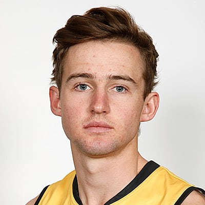 Headshot of 2019 AFL Draft Prospect Regan Clarke