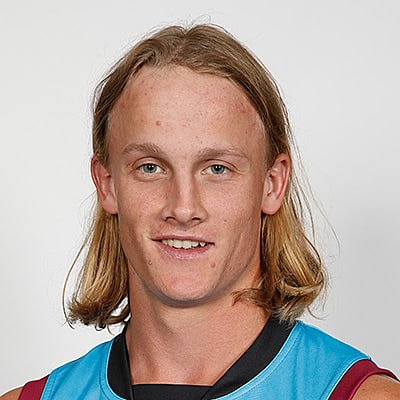 Headshot of 2019 AFL Draft Prospect Noah Cumberland
