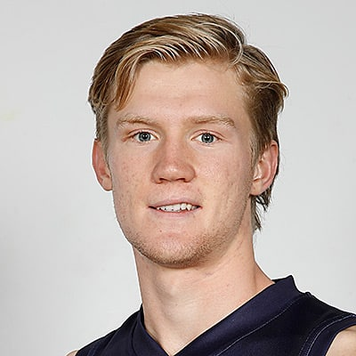 Headshot of 2019 AFL Draft Prospect Fischer McAsey