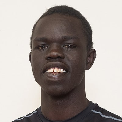 Headshot of 2019 AFL Draft Prospect Bigoa Nyuon