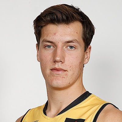 Headshot of 2019 AFL Draft Prospect Ronin O'Connor