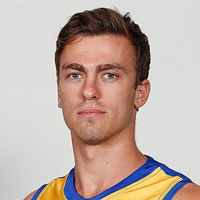 Headshot of 2019 AFL Draft Prospect Luke Partington