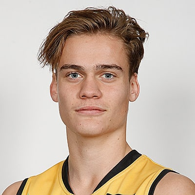 Headshot of 2019 AFL Draft Prospect Trent Rivers