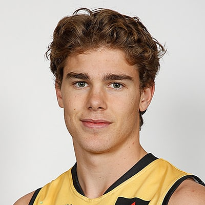 Headshot of 2019 AFL Draft Prospect Deven Robertson
