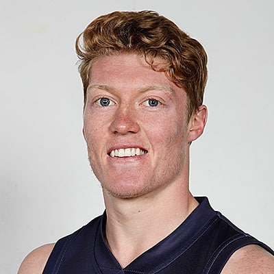 Headshot of 2019 AFL Draft Prospect Matthew Rowell