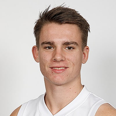 Headshot of 2019 AFL Draft Prospect Caleb Serong