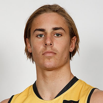 Headshot of 2019 AFL Draft Prospect Jeremy Sharp