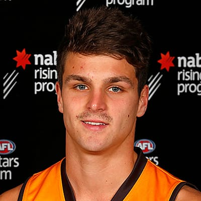 Headshot of 2019 AFL Draft Prospect Ben Sokol