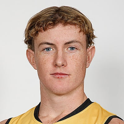 Headshot of 2019 AFL Draft Prospect Chad Warner