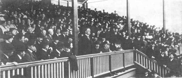 Opening of Gardiner Stand Image