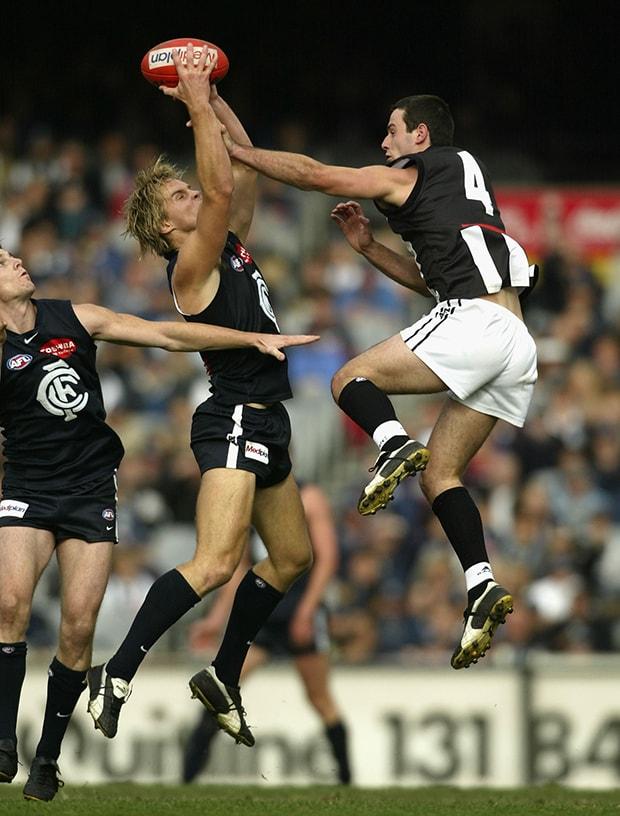AFL 2004 Rd 7 - Carlton Blues v Collingwood