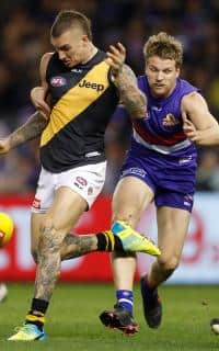 Could Jake Stringer follow Dustin Martin's lead after exploring other footballing options? - AFL,Dustin Martin,Jake Stringer,Richmond Tigers,Western Bulldogs