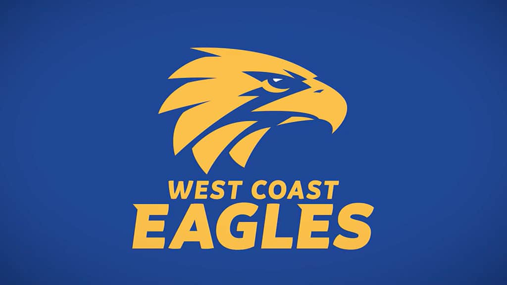 West Coast's new logo features an updated eagle's head - AFL,West Coast Eagles