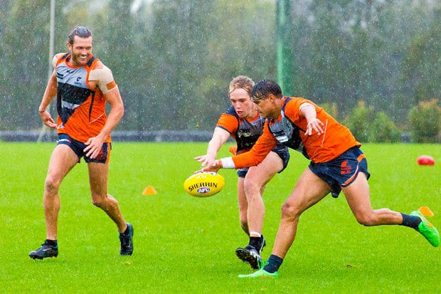 how to work in afl clubs as a trainer