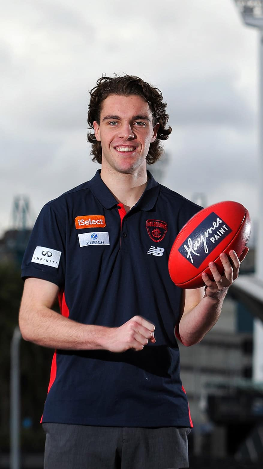 Austin Bradtke is set to join Melbourne as a category B rookie. Picture: melbournefc.com.au - AFL,Melbourne Demons