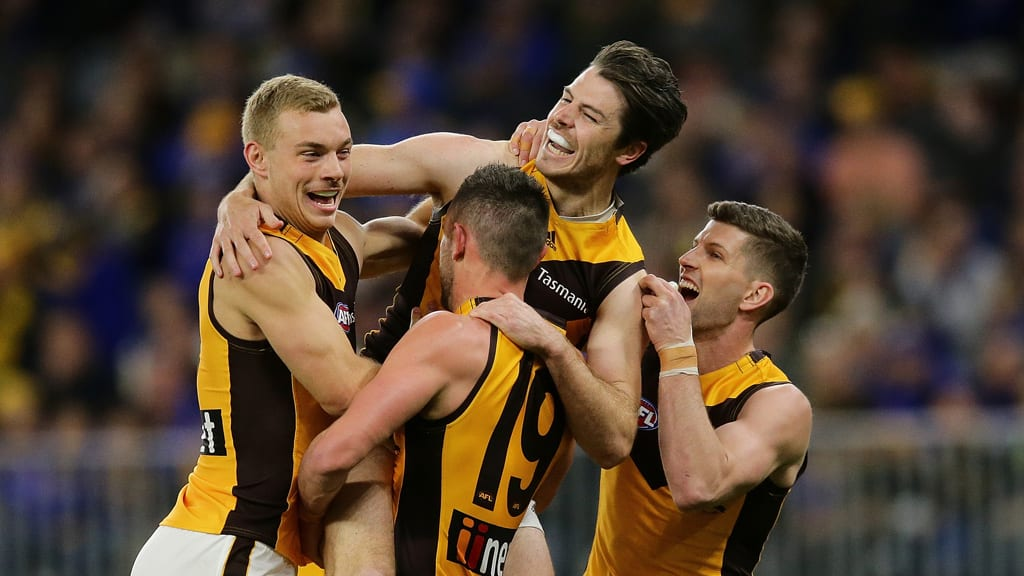 Boilover in the west: Hawks stay in finals race after stunning Eagles