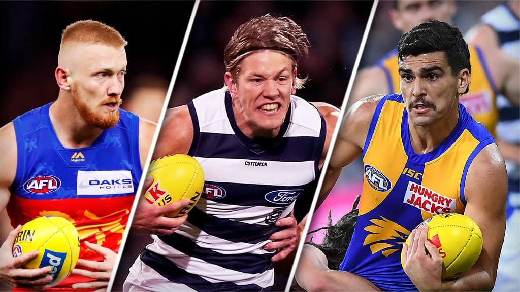 Nick Robertson, Rhys Stanley and Tom Cole are all in the selection frame this week. All pictures: AFL Photos - AFL,Brisbane Lions,GWS Giants,News,In the Mix,Geelong Cats,West Coast Eagles