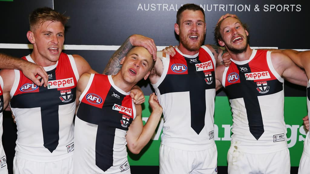 St Kilda is sitting pretty in second spot on the ladder with four wins from the opening five rounds - AFL,St Kilda Saints,Alan Richardson