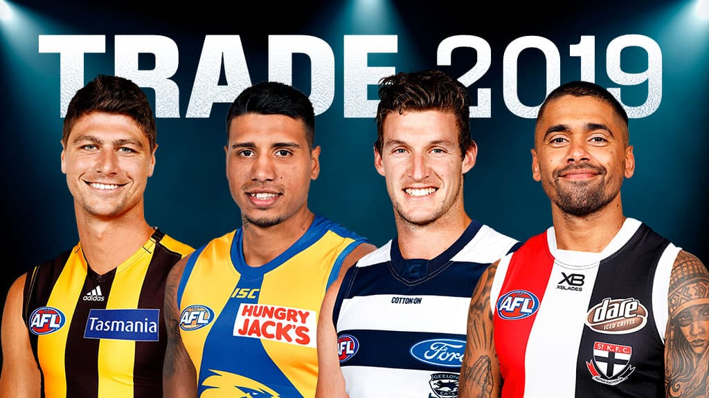 Trade Period ranked from worst to best: Who's in, out, draft hand