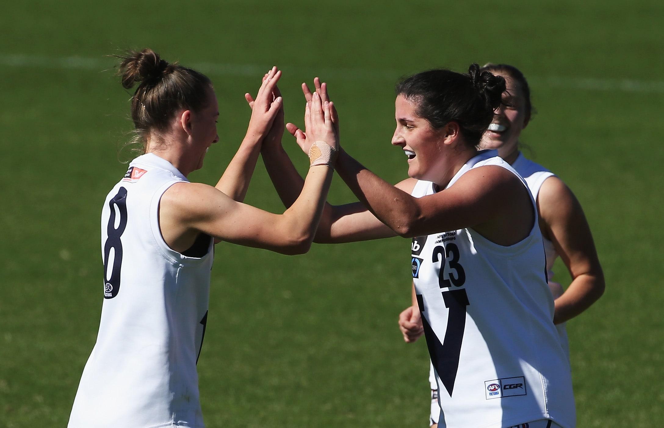 AFLW 2018 U18 Championships - Queensland v Vic Country