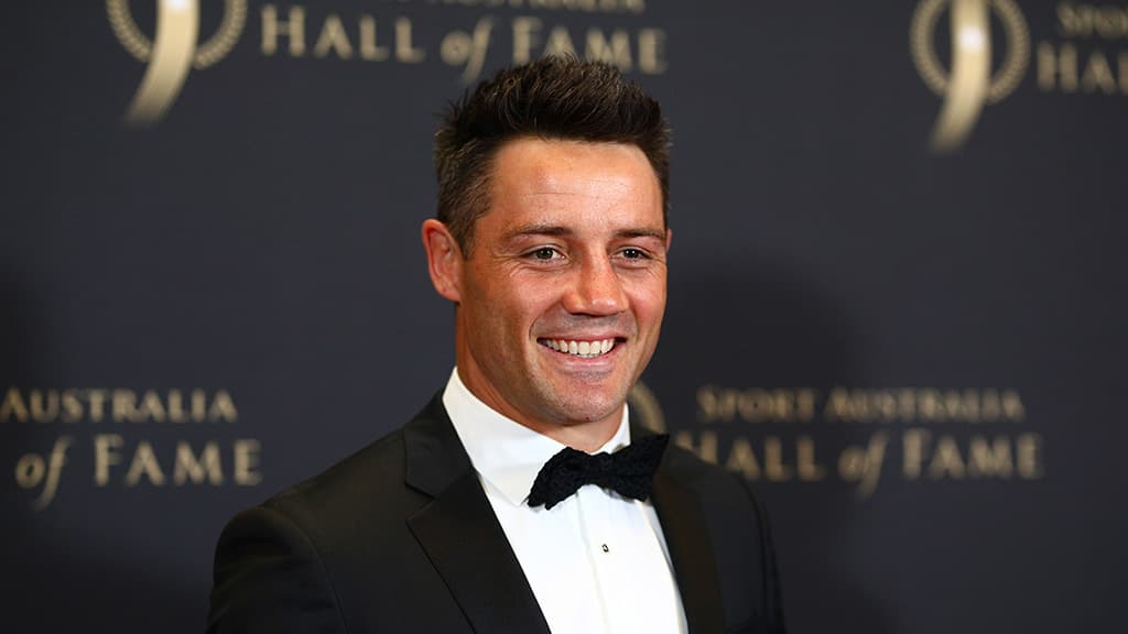 Retired NRL star Cooper Cronk has joined GWS - AFL,News,Game,Update,GWS Giants