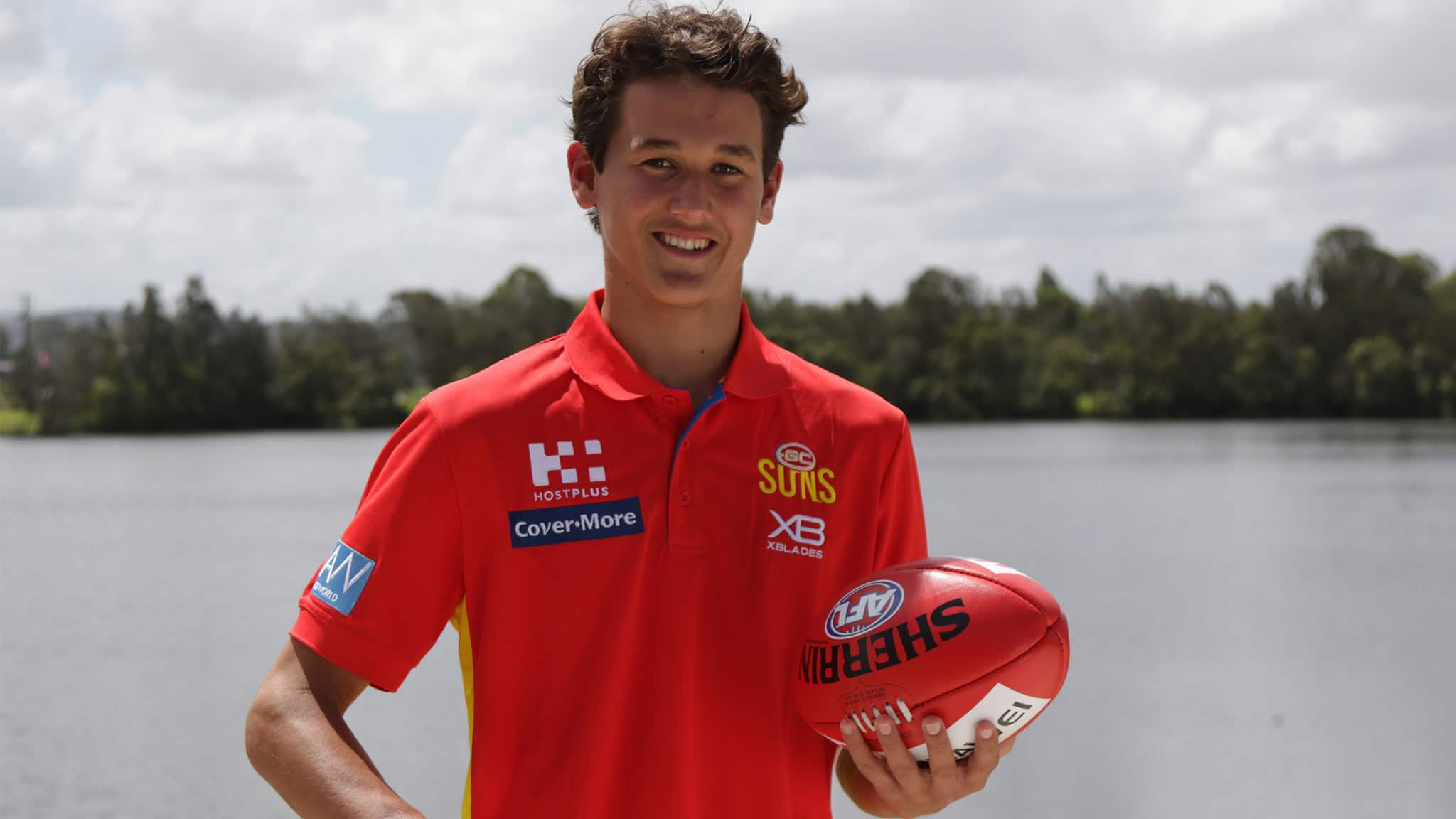 Wil Powell was a surprise first-round draft selection for the Suns. Picture: Gold Coast - AFL,Gold Coast Suns,Wil Powell,Draft,Stuart Dew