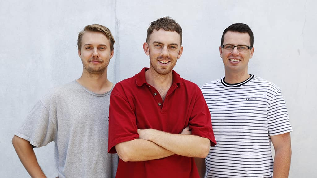 (L-R): Riley Beveridge, Callum Twomey and Mitch Cleary - AFL,Podcast,Tag-Podcasts,AFL Exchange