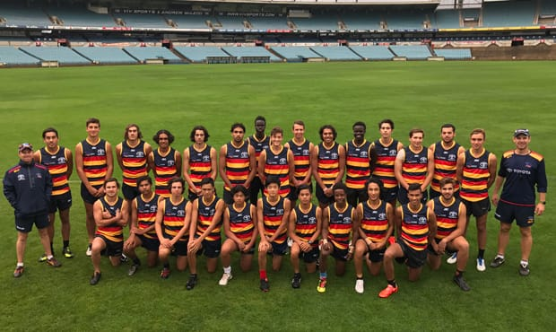 Adelaide's Next Generation Academy Talent Squad