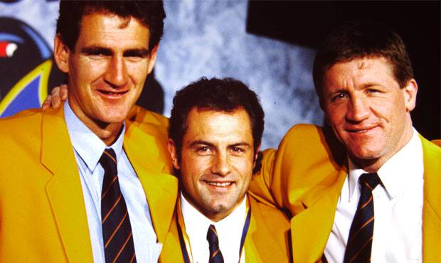 Adelaide's first three Club Champions, Mark Mickan (1991), Tony McGuinness (1993) and Chris McDermott (1992)